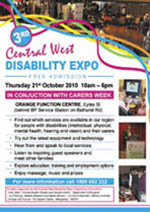 Central West Disability Expo 2010