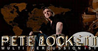 Pete Lockett - Percussionist